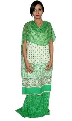 Estelo Cotton Polyester Blend Printed Salwar Suit Dupatta Material