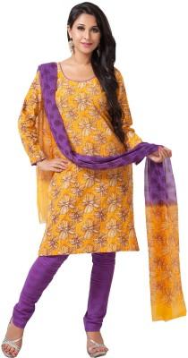 Aapno Rajasthan Cotton Floral Print Salwar Suit Dupatta Material