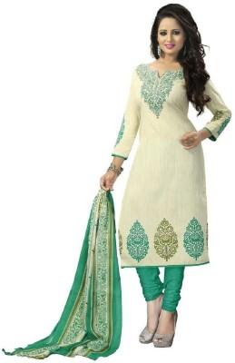 FashionsBazaar Cotton Printed Salwar Suit Material