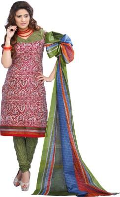 Minu Suits Cotton Printed Salwar Suit Dupatta Material