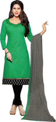 Kabeer Creation Chanderi Printed Salwar Suit Dupatta Material