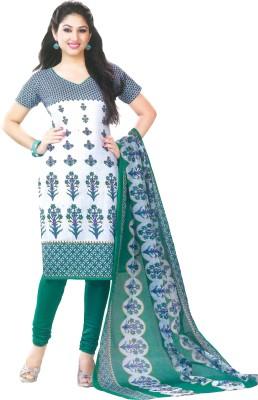 Shree Ganesh Cotton Printed Dress/Top Material