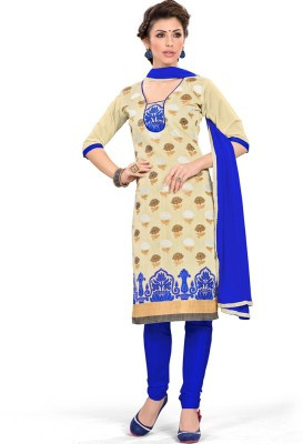 Style Mania Jacquard Embroidered Dress/Top Material