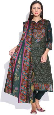 Uptowngaleria Cotton Floral Print Salwar Suit Dupatta Material