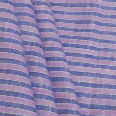 Fashion Foreplus Cotton Linen Blend Striped Shirt Fabric