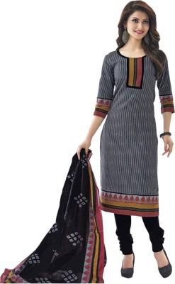 SHS Cotton Printed Salwar Suit Dupatta Material