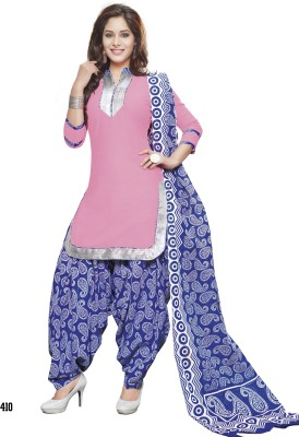 Kjs Cotton Self Design Salwar Suit Dupatta Material