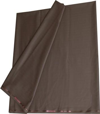 Kundan Polyester, Viscose Self Design, Striped Suit Fabric