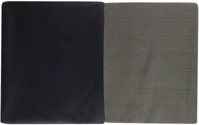 Siddharth Cotton Polyester Blend Checkered Shirt & Trouser Fabric