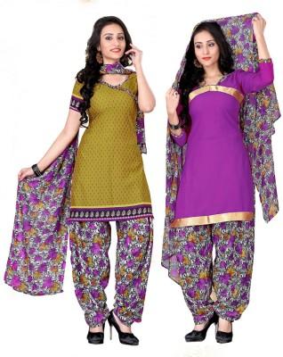 Li Te Ra Crepe Printed Salwar Suit Material