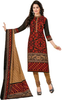 Jevi Prints Cotton Printed Salwar Suit Dupatta Material