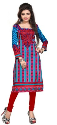 Ashish Cotton Printed Kurti Fabric