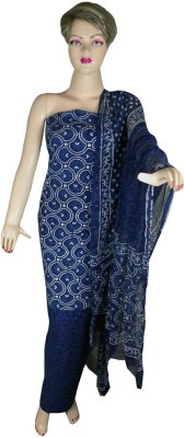 Khatri Creations Cotton Printed Salwar Suit Dupatta Material