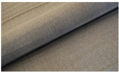 Amadeus Cotton Polyester Blend Solid Trouser Fabric