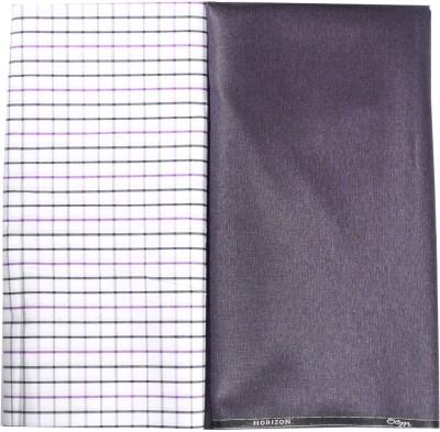 OCM Cotton Polyester Blend Solid Trouser Fabric, Shirt Fabric