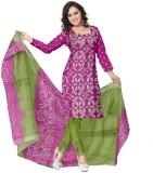 Glitters Cotton Floral Print Salwar Suit...