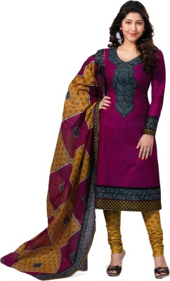 Salwar Studio Cotton Printed Salwar Suit Dupatta Material