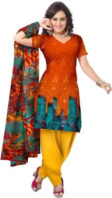 Triveni Cotton Printed Salwar Suit Dupatta Material