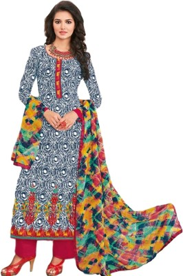 At My Fashion Cotton Printed Salwar Suit Dupatta Material