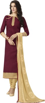 Jiya Cotton Self Design Salwar Suit Dupatta Material