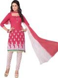 De Marca Cotton Embroidered Salwar Suit ...
