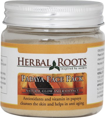 Herbal Roots Skin Whitening Papaya Face Pack