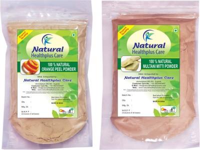 Natural Healthplus Care Orange Multani Powder Combo
