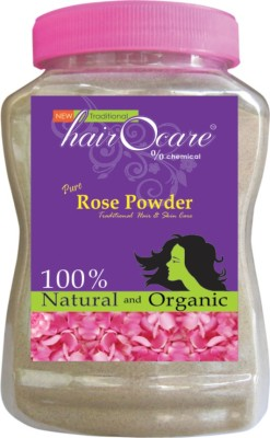 hairocare pure Rose Powder - Natural Face Pack & Skin Treatment - Pack of 1x350g