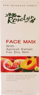 Roselyn Apricot Face Mask