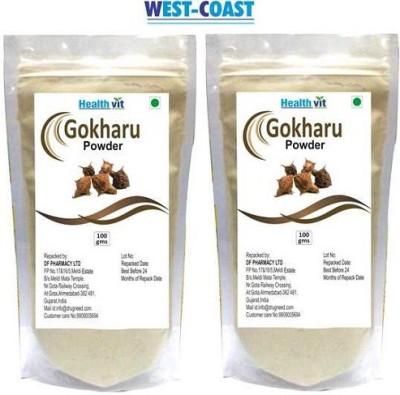 West-Coast Healthvit Gokharu (Tribulus) Powder (Pack Of 2)