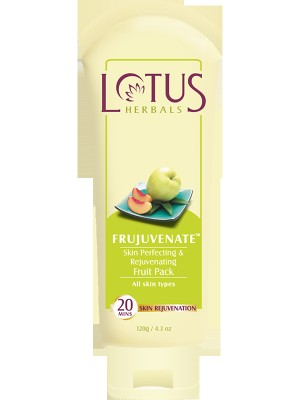 Lotus FRUJUVENATE Skin Perfecting & Rejuvenating Fruit Pack