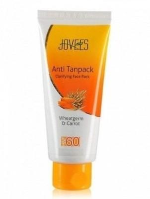 Jovees Wheatgerm & Carrot Anti Tanpack HNF 60 (Pack of 3)