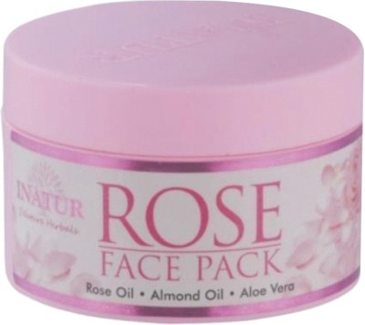 Inatur Herbals Rose Face Pack