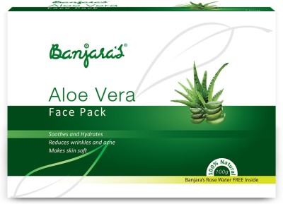 Banjaras Face Pack Aloevera powder