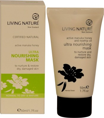 Living Nature Ultra Nourishing Mask with Rosehip and Botanical Oils