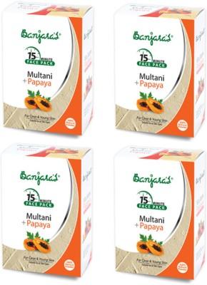 Banjaras Multani with Papaya Powder Pack Set of 4