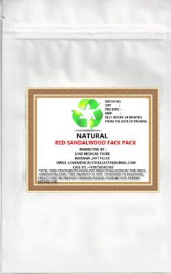Natural Red Sandal Face Pack