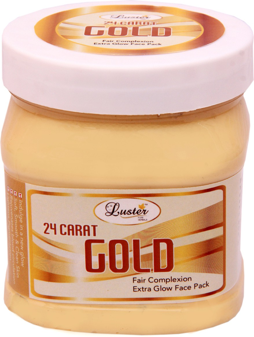Luster 24 carat Gold Face Pack(500 ml)