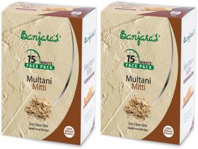 Banjaras Multani Mitti 100 Gms Set Of 2 Pack