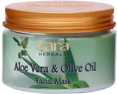 Sara Aloe Vera & Olive Oil Facial Mask