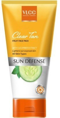 VLCC Clear Tan Fruit Face Pack(85 g)