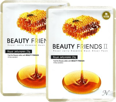 Beauty Friends Royal Jelly (Honey) Essence Mask Sheet Pack