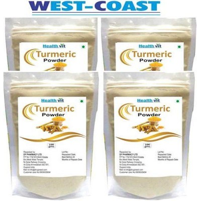West-Coast Healthvit Turmeric (Haldi Powder) 100gms Pack Of 4