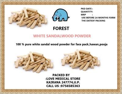 Forest White Sandal Wood Powder