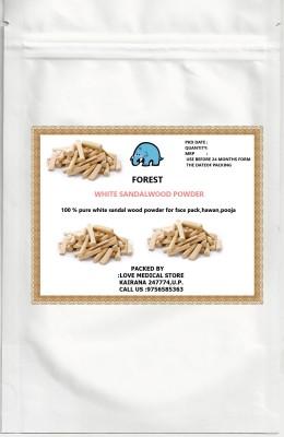 Forest White Sandal Wood Powder(100 g)