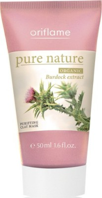 Oriflame Sweden Pure Nature Organic Burdock Extract Purifying Clay Mask