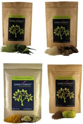 Dark Forest Moonsoon Care Face Pack (Lemon, Neem,Orange, Amba Halad)