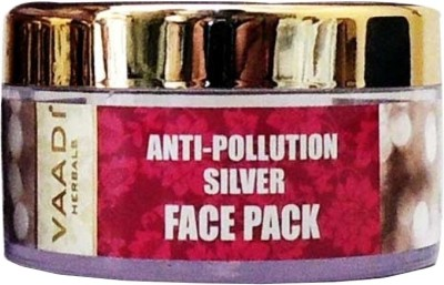 Vaadi Herbals Silver Face Pack - Pure Silver Dust & Lavender Oil