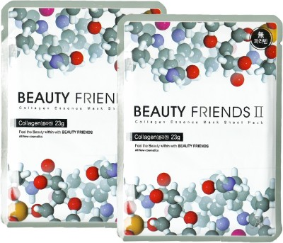 Beauty Friends Collagen Essence Mask Sheet Pack