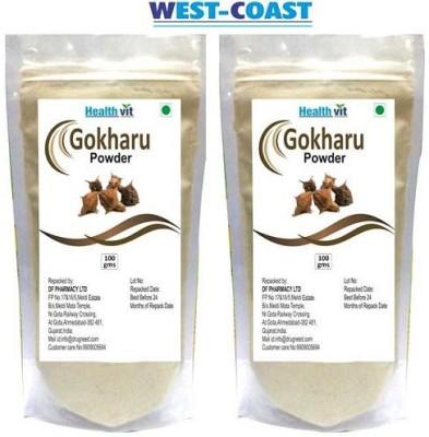West-Coast Healthvit Gokharu (Tribulus) Powder 100gms Pack Of 2